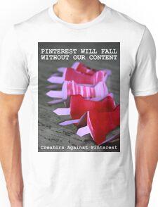 Creators Against Pinterest Unisex T-Shirt