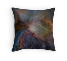 Orion Nebula resin painting Throw Pillow