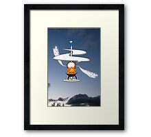 The First Helicopter ? Framed Print