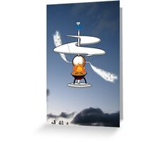 The First Helicopter ? Greeting Card