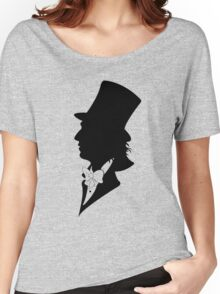 Willy Wonka Silhouette Women's Relaxed Fit T-Shirt