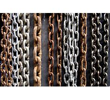 Chain Gang Photographic Print