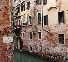 Venice Canal by Jacqueline Longhurst