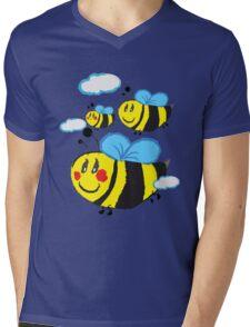 Family bee Mens V-Neck T-Shirt