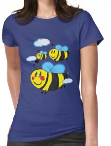 Family bee Womens Fitted T-Shirt
