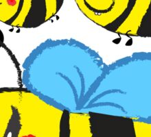 Family bee Sticker