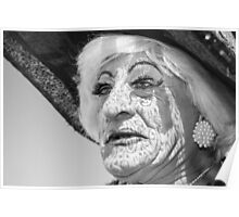 Brighton Pride - Lace Face Poster