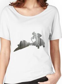 Star Wars Scout Trooper on Speeder Bike on Endor Women's Relaxed Fit T-Shirt