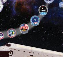 Shuttle Challenger (OV-099) Tribute Sticker