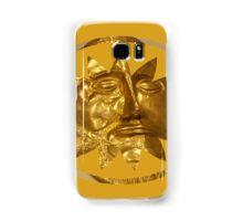 ancient greek golden mask Samsung Galaxy Case/Skin