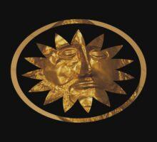 ancient greek golden mask One Piece - Short Sleeve