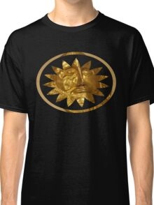 ancient greek golden mask Classic T-Shirt