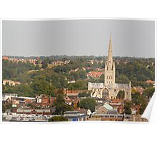 Norwich Anglican Cathedral Poster