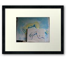 Update on Jean M. Laffitau's   Framed Print