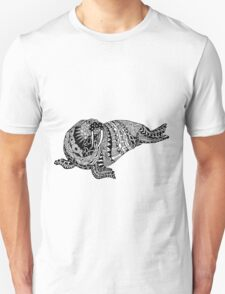 Walrus Drawing Unisex T-Shirt