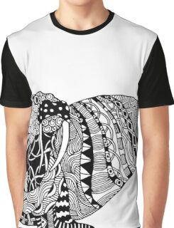 Walrus Drawing Graphic T-Shirt