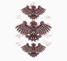 Eagle Tattoo Style Haida Art Kids Tee