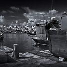 Xlokk Mono -- (Marsaxlokk Malta) by Edwin  Catania
