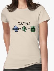 Maths Womens Fitted T-Shirt
