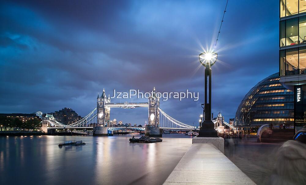Tower Bridge Blues by JzaPhotography