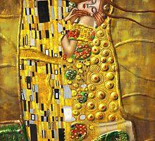 My Klimt:Kiss by Müge Başak