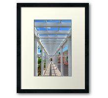 The Path... Framed Print