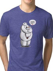 Baymax Funny Tri-blend T-Shirt