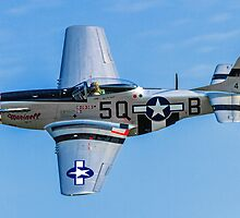 """P-51D Mustang 44-13521/5Q-B G-MRLL """"Marinell"""" by Colin Smedley"""