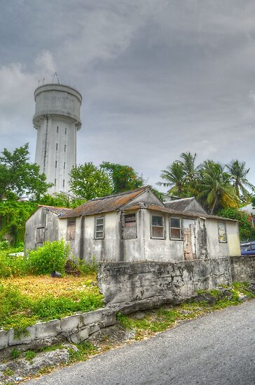 The Water Tower in Nassau, The Bahamas by 242Digital