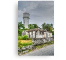 The Water Tower in Nassau, The Bahamas Canvas Print