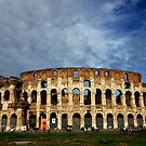 The Colosseum Rome by Graeme Buckland