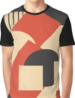 Geometrical abstract art deco mash-up 1 Graphic T-Shirt