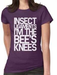 Insect Ligaments/Bee's Knees Womens Fitted T-Shirt