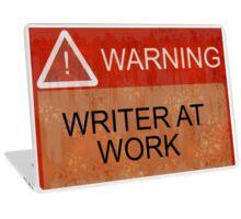 Writer At Work Laptop Skin