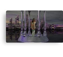 Wanted - Alien Abductress for Seduction Canvas Print