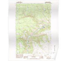 USGS Topo Map Washington State WA Klickitat 241790 1983 24000 Poster