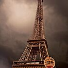 Eiffel Tower Glow by Stephanie Macwhorter