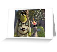 MLG Shrek Greeting Card