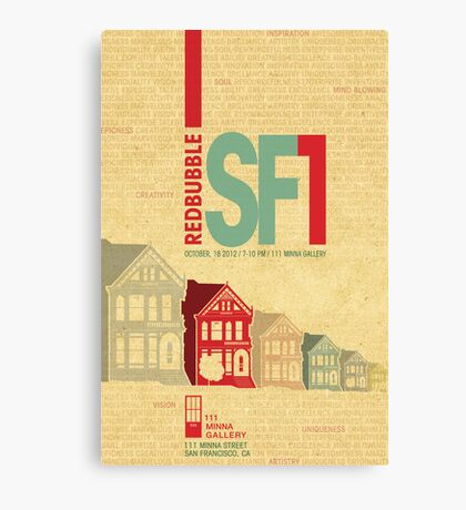 RedBubble SF1 Poster Contest Entry Canvas Print