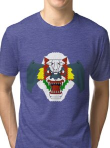 Airwolf 8BIT Tri-blend T-Shirt