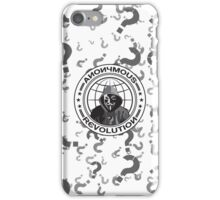 Anonymous Revolution iPhone Case/Skin