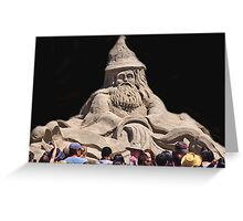 Sand Wizard Greeting Card