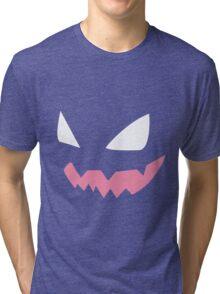 Haunter face Tri-blend T-Shirt
