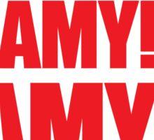 Amy Amy Amy! II Sticker