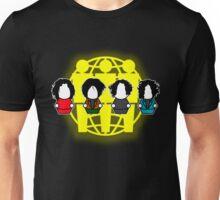 Many Shades of White - Logo Unisex T-Shirt