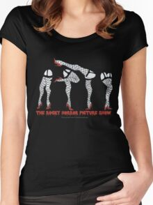 Rocky Horror Picture Show {Legs} Women's Fitted Scoop T-Shirt