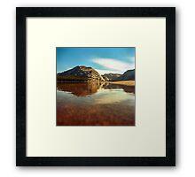 Tenaya Lake. Yosemite National Park, CA. Framed Print