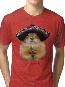 Dia de los Muertos - Prairie Dog Tri-blend T-Shirt