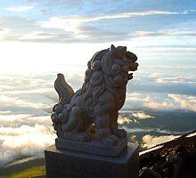 Mount fuji's view : Koma inu by AyannaCosplay
