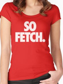FETCH. Women's Fitted Scoop T-Shirt